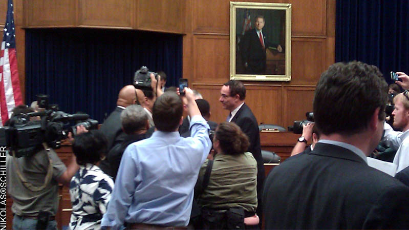 Photographs from the hearing on the District of Columbia's Fiscal Year 2012 Budget: Ensuring Fiscal Sustainability