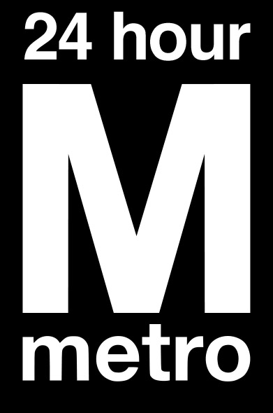 Logo for Washington Metropolitan Area Residents for a 24 Hour Metro