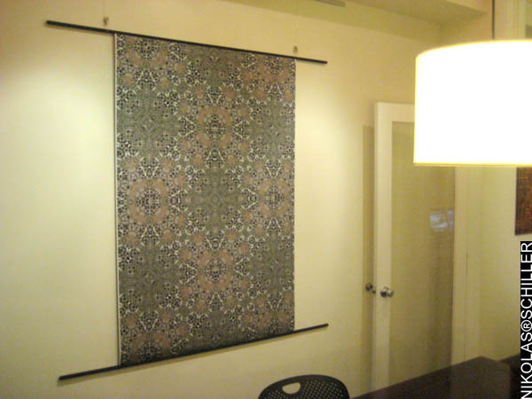 Photograph of Park La Brea Quilt no. 3 at the FRIEND REQUEST exhibition