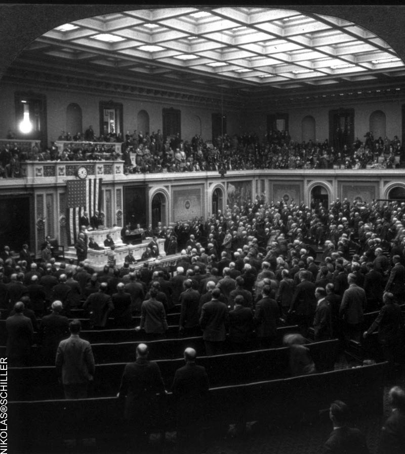 Photograph of Congress from the Library of Congress