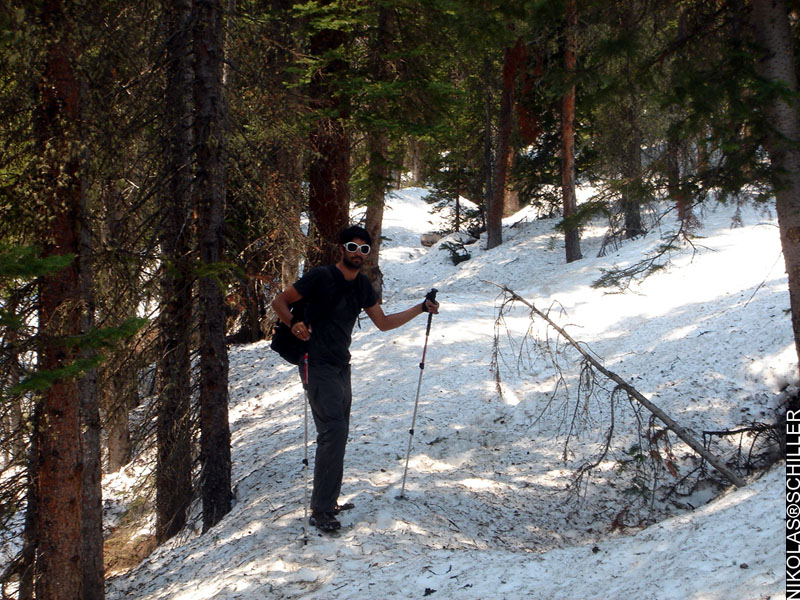 Photographs of Backpacking in the San Isabel National Forest