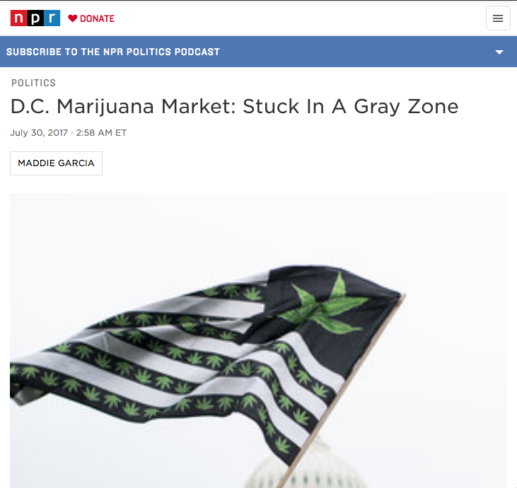 D.C. Marijuana Market: Stuck In A Gray Zone