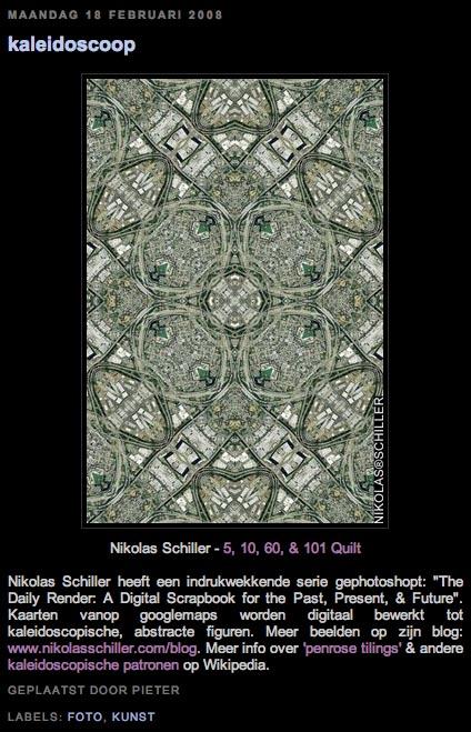 Kaleidoscoop by Pieter Van den Dorpe