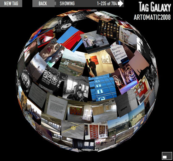 tag galaxy showing Artomatic photographs from Flickr