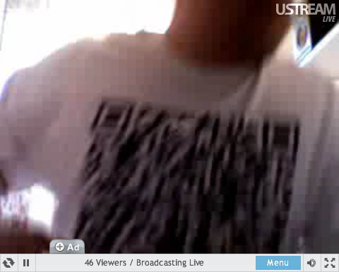 Screen grab of Teki Latex in a QR-Code T-Shirt