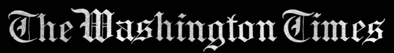 A scan of the original masthead of the Washington Times from 1920