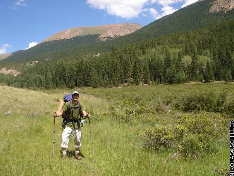 Random Photograph from the backpacking trip in Pike National Forest in Colorado