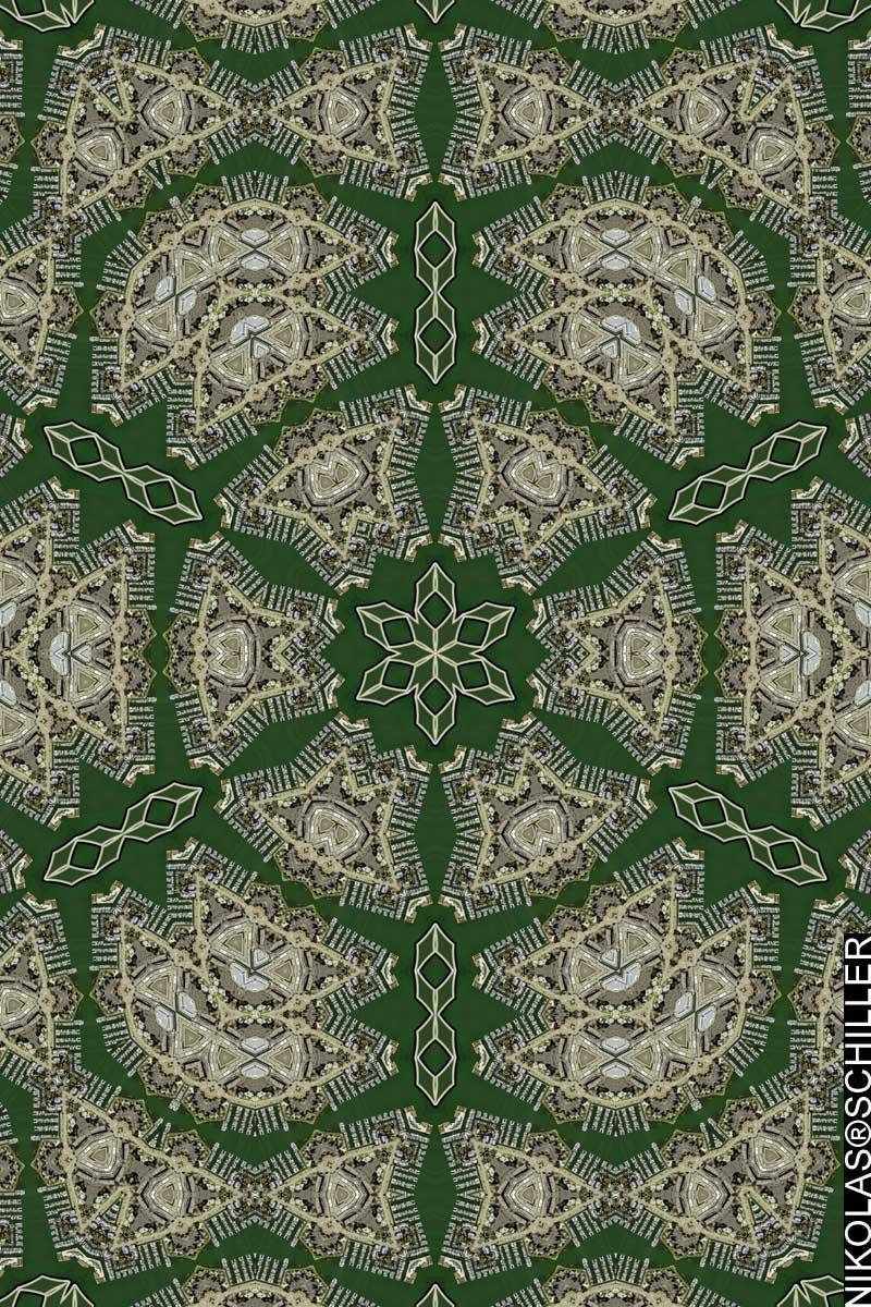Harborside Quilt #3 by Nikolas Schiller