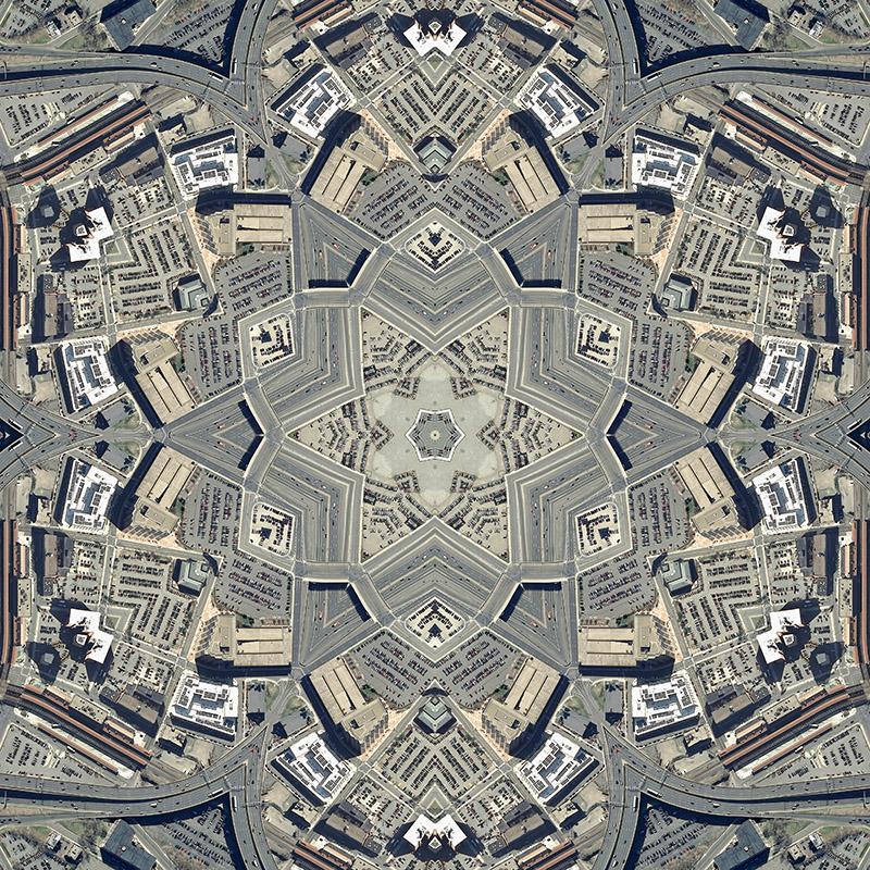 Zoom in of Hartford Quilt by Nikolas Schiller