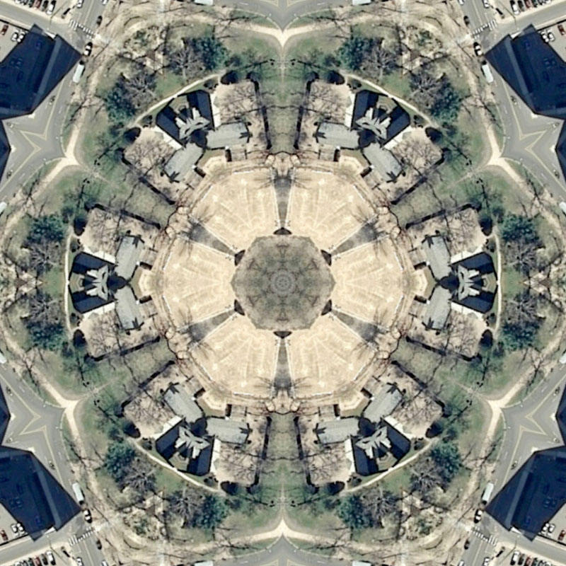 Zoom in of Hartford Quilt #3 by Nikolas Schiller