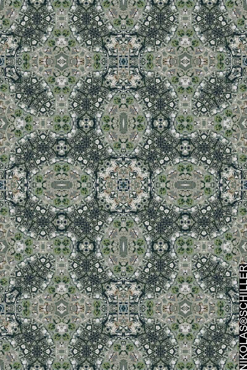 Los Alamitos Circle Quilt no.3 by Nikolas Schiller
