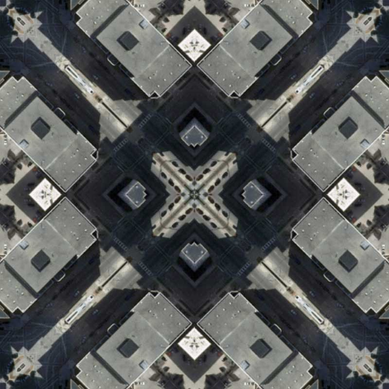 Zoom in of Madison Quilt by Nikolas Schiller
