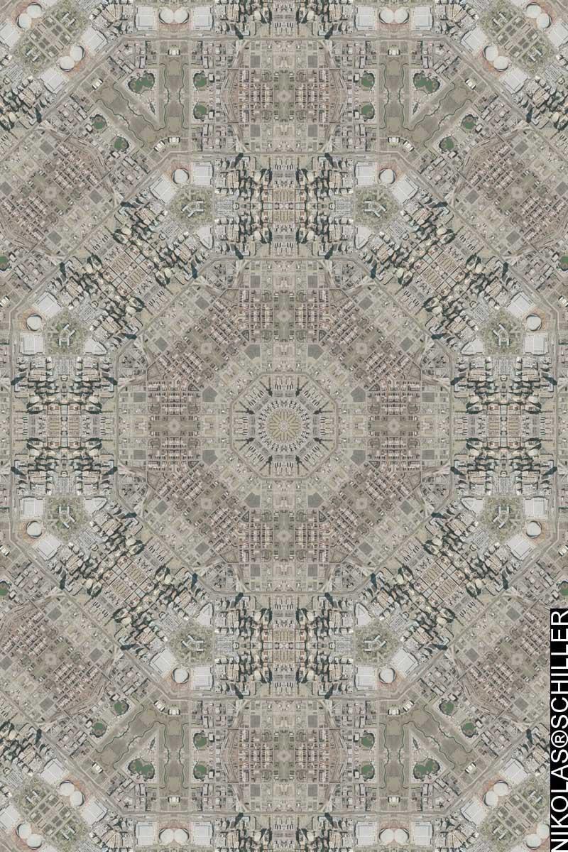 Oklahoma City Quilt #2 by Nikolas Schiller