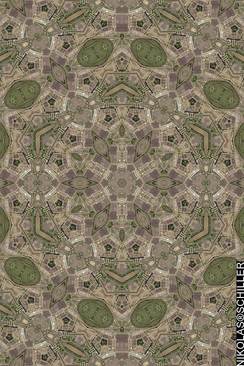 Pentagon Quilt by Nikolas Schiller