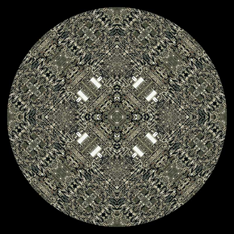 Philly Mandala No.2 by Nikolas Schiller