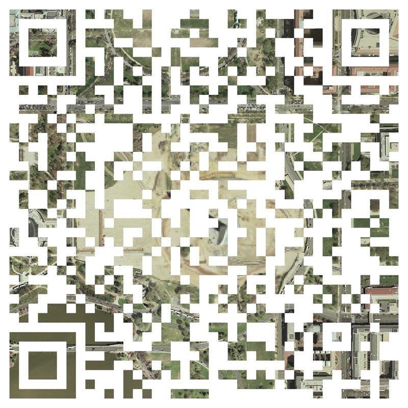 Geovisual QR Code by Nikolas Schiller