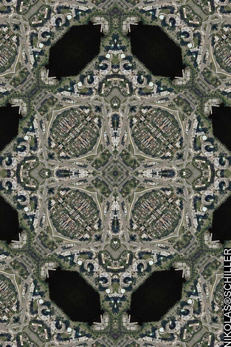 Watergate Quilt by Nikolas Schiller